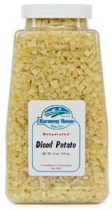 Harmony House Diced Potatoes