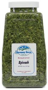 Harmony House dried spinach