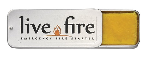 Live fire - emergency firestarter