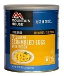 Mountain House bacon and eggs scramble