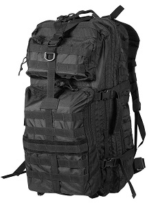 Tactical bugout bag black