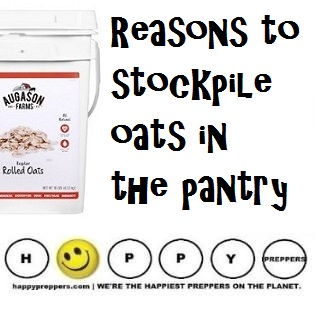 Reasons to stockpile oats in the prepper's pantry