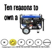 Ten reasons to own a generator