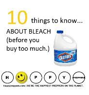 Ten things to know about bleach (before you buy too much)
