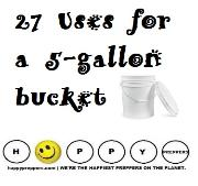 27 uses for a five-gallon bucket - prepping projects