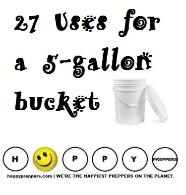 27 Uses for a 5 gallon bucket