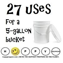 27 uses for a 5-gallon bucket