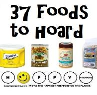 37 foods to hoard before crisis - food supplies for emergencies