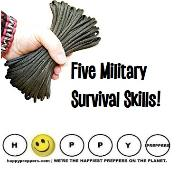 Five Military Survival Skills for preppers