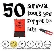 50 survival tools you forgot to buy