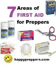 Seven Areas of Prepper First Aid