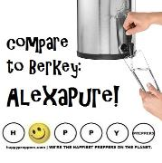 Compare to Berkey: AlexaPure