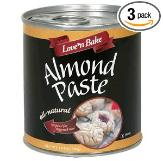 Prepper food: almond paste