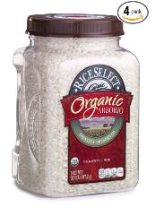 rice food storage 4 pack arborio rice