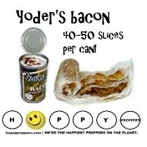 Yoder bacon in a can has 40-50 slices!