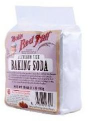 Baking soda is a prepper's pantry favorite