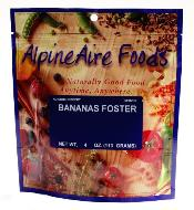 Freeze dried emergency food ~ Bananas foster