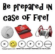 Be prepared in case of fire