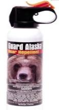 Bear spray as an improvised weapon