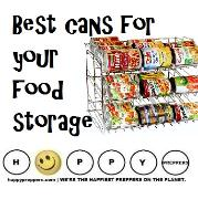 Best cans for your food storage