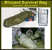 Blizzard Survival bag