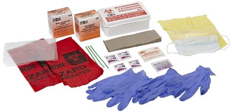 Blood born pathogen kit Pandemic preparedness
