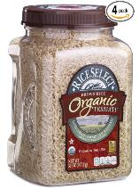rice food storage Brown rice four pack