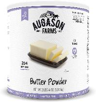 Dehydrated butter powder from Augason Farms