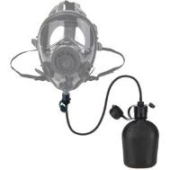 Gas mask drink kit canteen