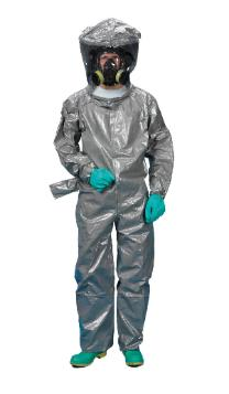 Chemical suit with full eBola protection
