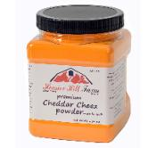 Food storage cheddar cheese powder