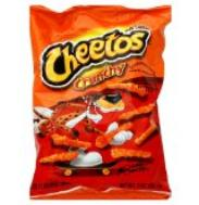 Cheetos make interesting tinder for firestarters