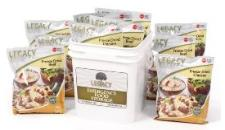 Legacy Foods chicken and beef bucket