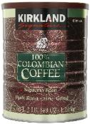 Kirkland Coffee in a can