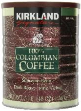 Kirkland coffee