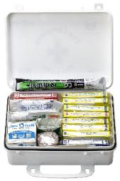 Complete first aid kit ansi inlcudes Save a Tooth