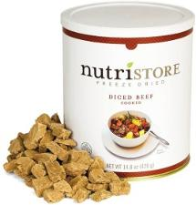 Nutristore Beef Dices