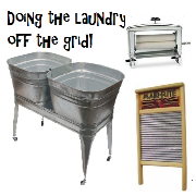 Doing Laundry off grid