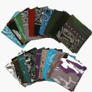 bandanna assortment by the dozen