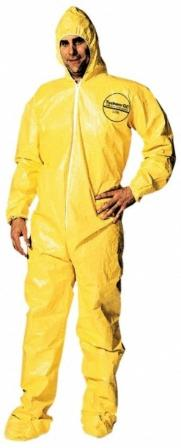 Ebola and chemical protection suit