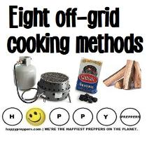 Eight Off-grid Cooking Methods
