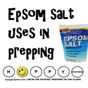 Epsom salt uses in prepping