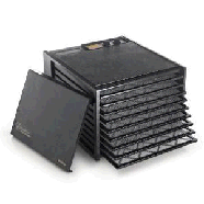 Excalibur 3926TB Food Dehydrator, Black