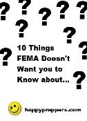 Ten things FEMA doesn't want you to know about