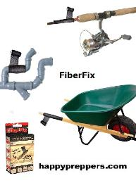 Fiberfix has a multitude of uses in prepping