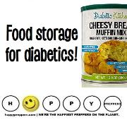 Food storage for diabetics