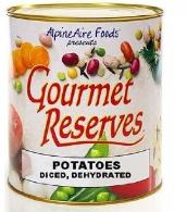 Gourmet Reserves freeze dried Diced potatoes