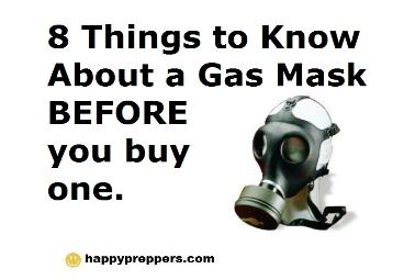 8 things to know about gas masks before you buy one