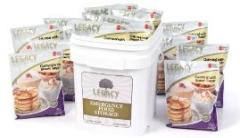 Legacy Foods emergency bucket of gluten free foods