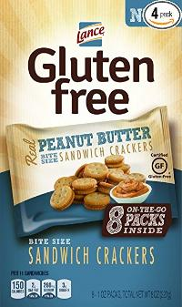 Gluten free sandwich crackers